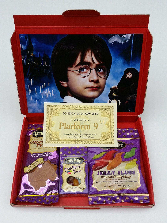 Harry potter gift box chocolate frog bertie botts beans