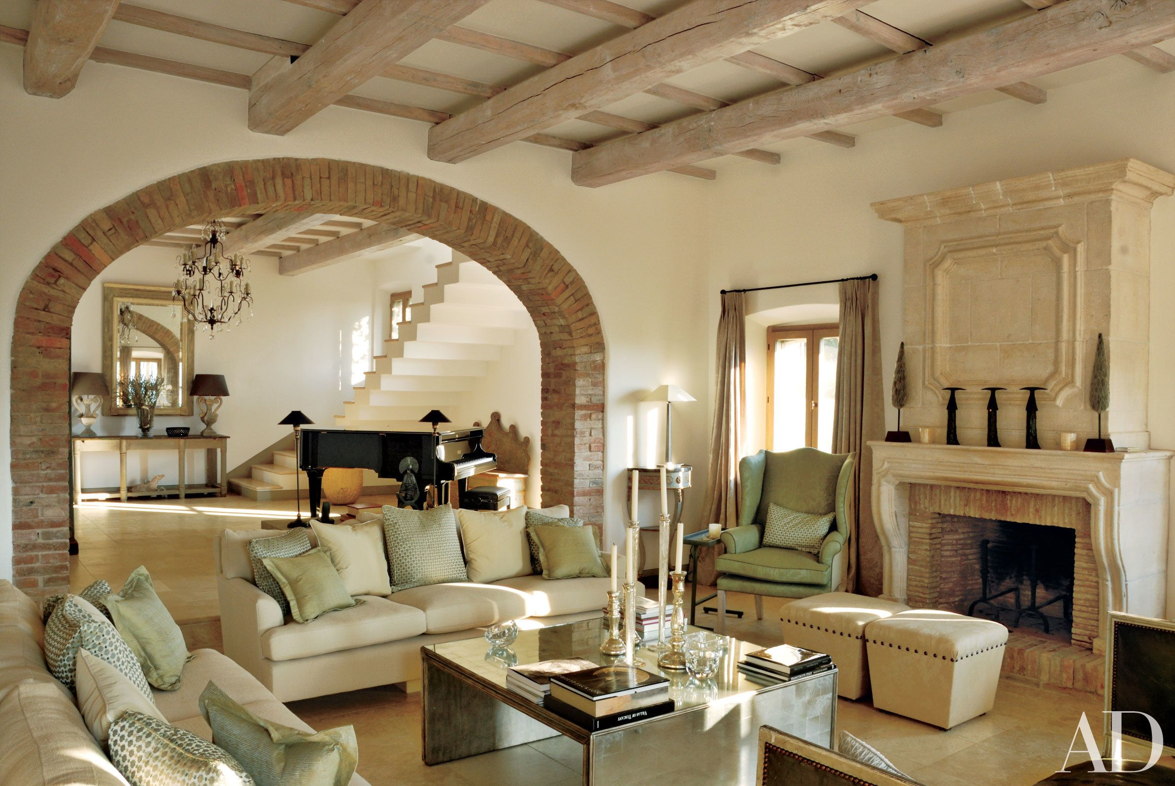 Step 19 Magnificent Rooms In Italian Homes