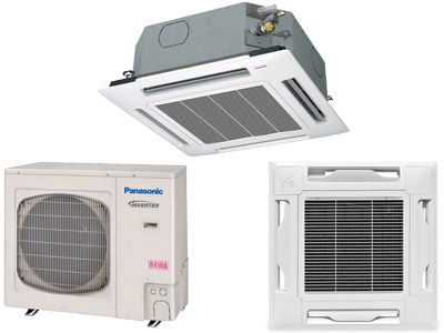 Panasonic 26psu1u6 Single Split System Ceiling Recessed Air Conditioner Overview Air Conditioner Home Appliances Remodeling Mobile Homes