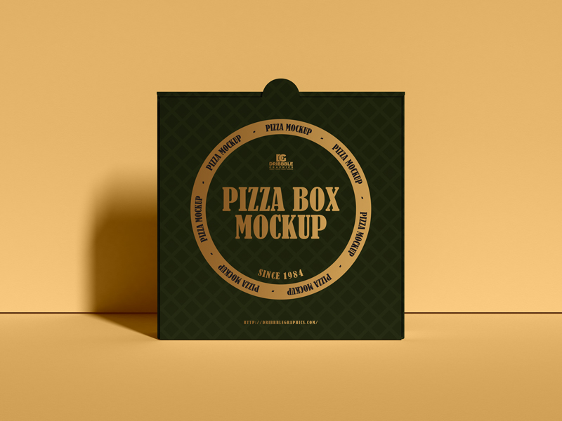Download Free Modern Packaging Pizza Box Mockup Dribbble Graphics Modern Packaging Pizza Box Design Box Mockup