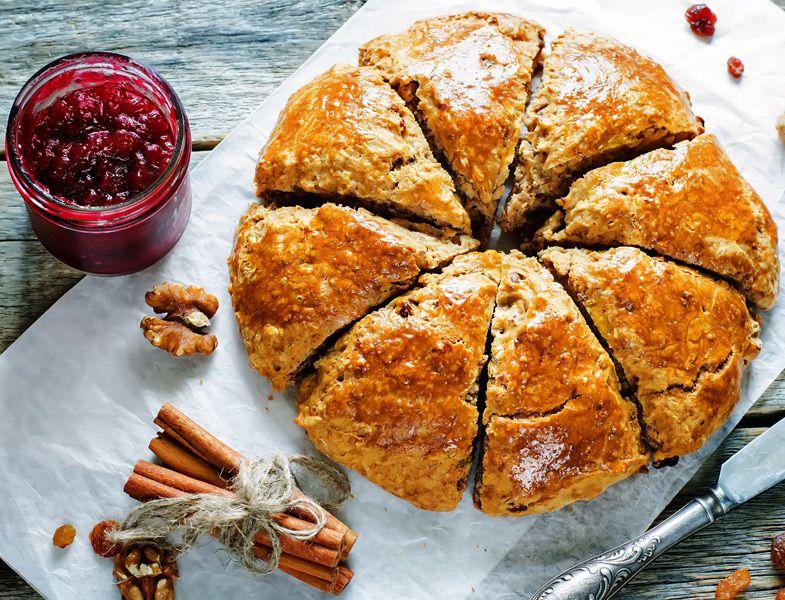 Sahur İçin Cevizli Kolay Çörek Tarifi #donutcake