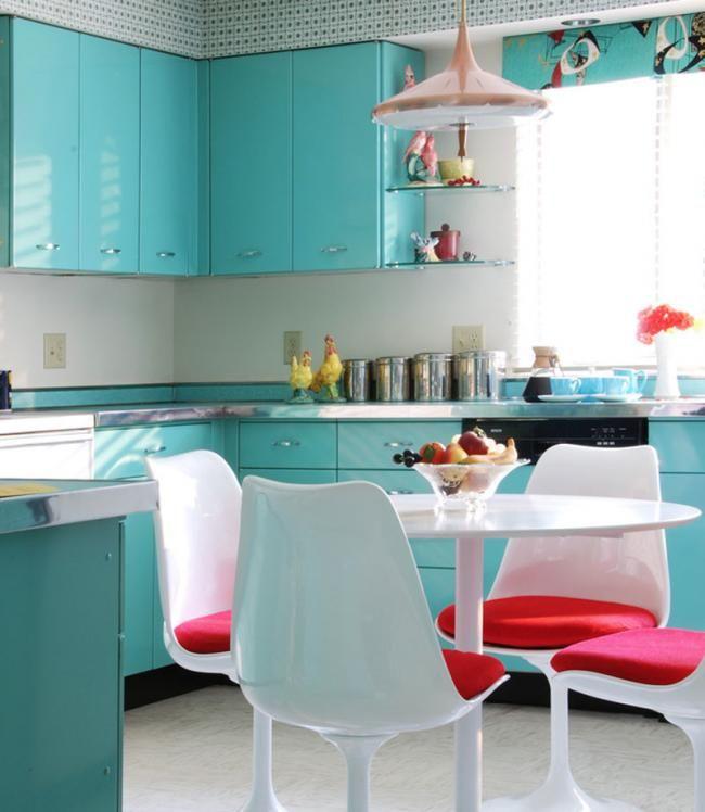 Cocinas llenas de color, atrévete con alguna de estas nueve ...