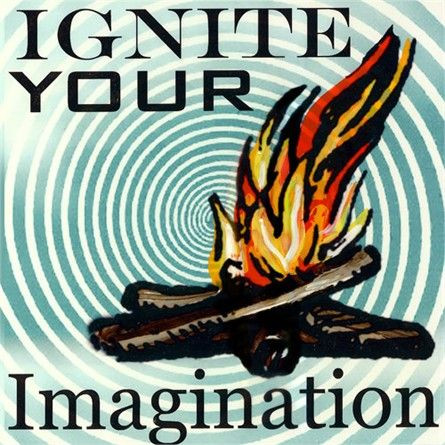 Ignite Your Imagination Canvas Reproduction