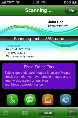 Download scanbizcards android and iphone business card scanner app download scanbizcards android and iphone business card scanner app reheart Choice Image