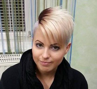 clippered sides with this ultra short pixie