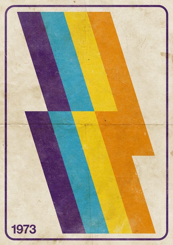 Graphic Poster 70 S Retro Vintage Peter Moller Vintage Poster Art Vintage Graphic Design Retro Graphic Design