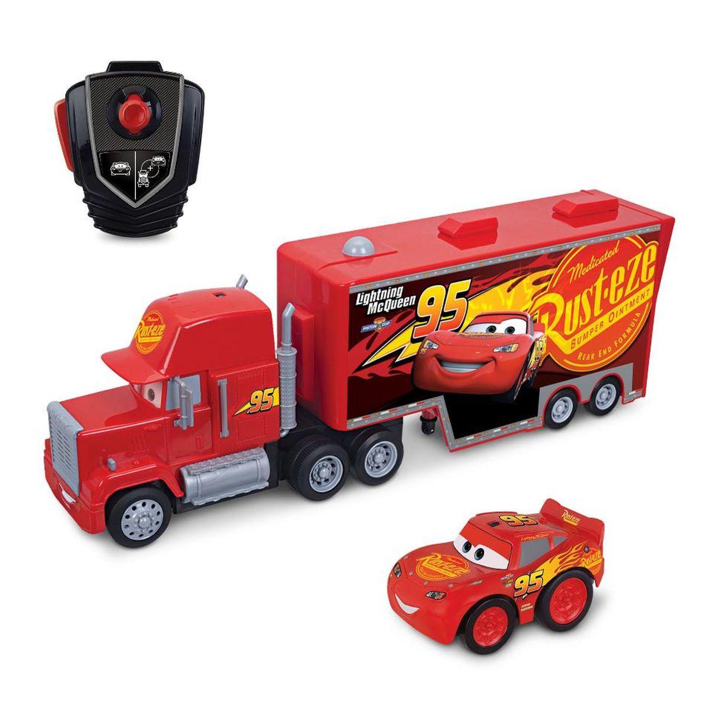 Disney Pixar Cars Remote Control Car Mack And Lightning - Lightning mcqueen custom vinyl decals for cardisney pixar cars a walk down cars advertising memory lane take