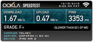 Echa un vistazo a mi resultado de Ookla Speedtest. ¿Cuál es tu velocidad? #speedtest
