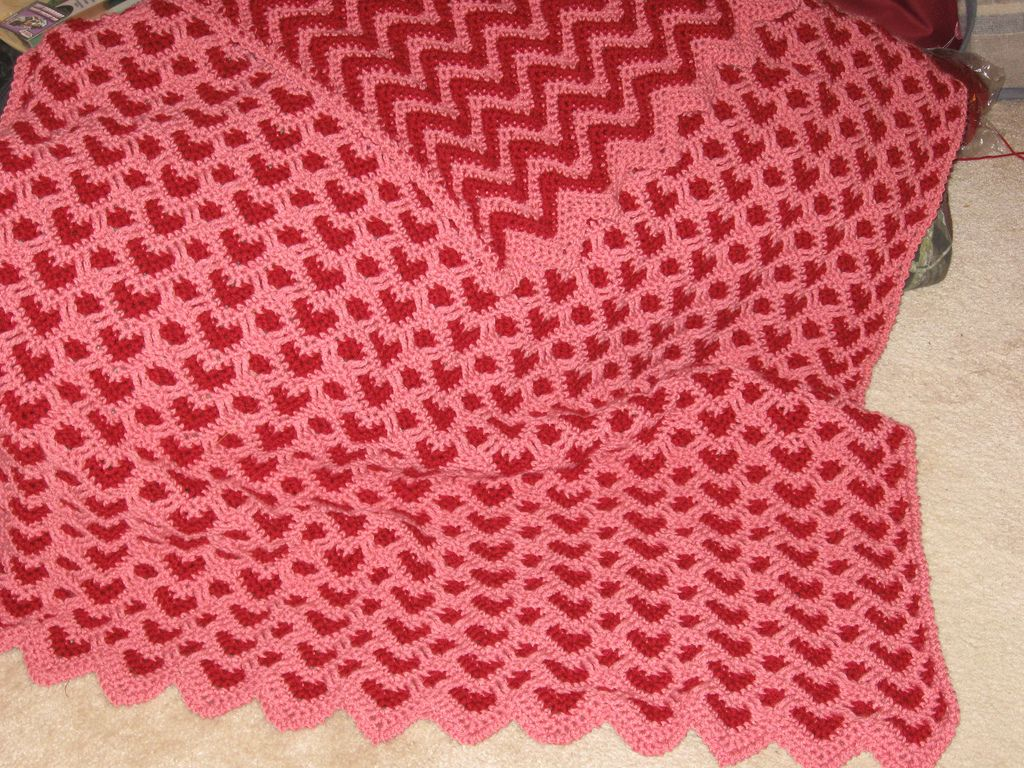 Ravelry: Sweetheart Ripple pattern by Kim Guzman | Projects to Try ...