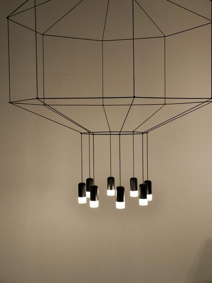 'Wireflow' by Arik Levy for Vibia.