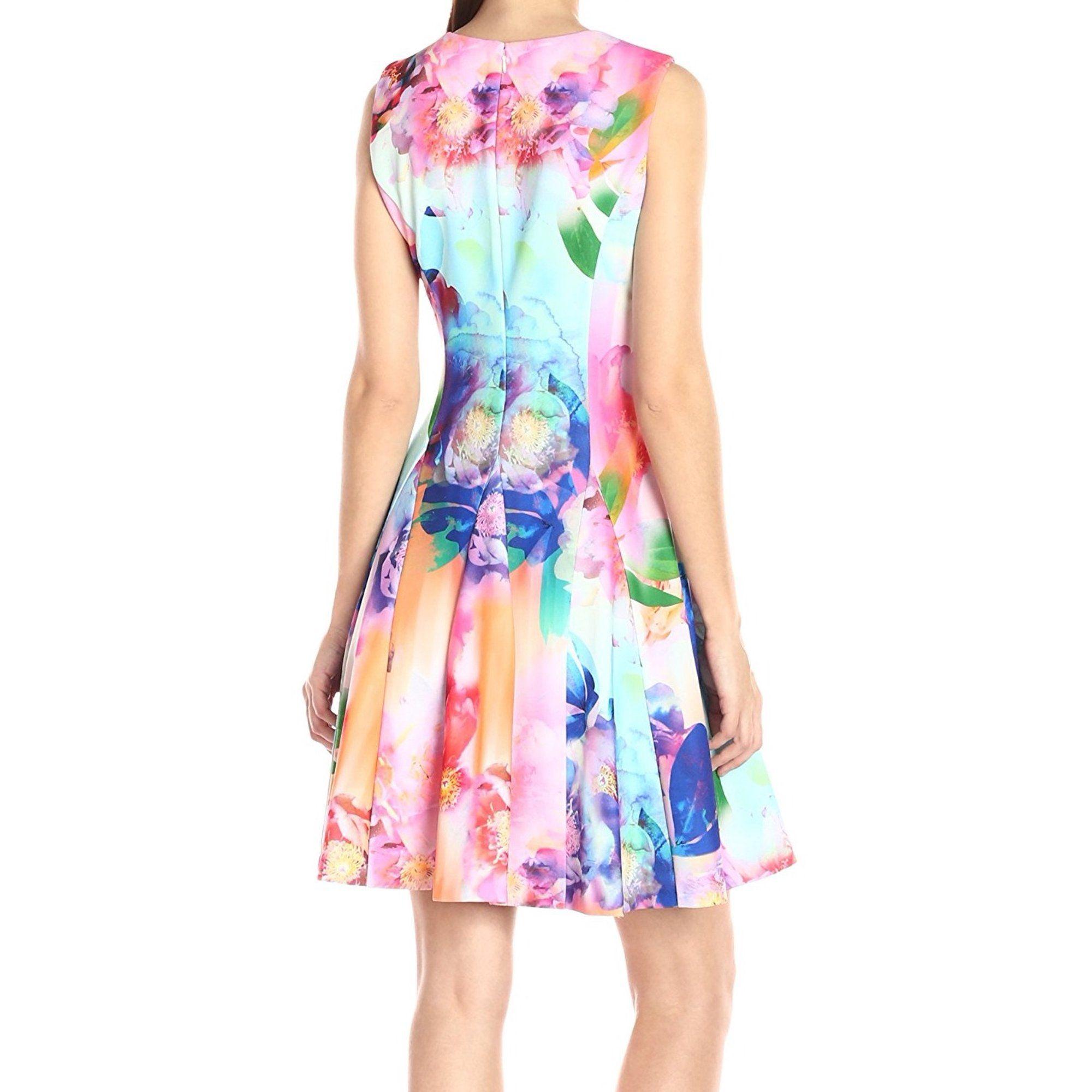 Calvin Klein Calvin Klein New Pink Womens Size 12 Floral Print Crewneck Sheath Dress Walmart Com Dresses Sheath Dress Floral Fit [ 2000 x 2000 Pixel ]