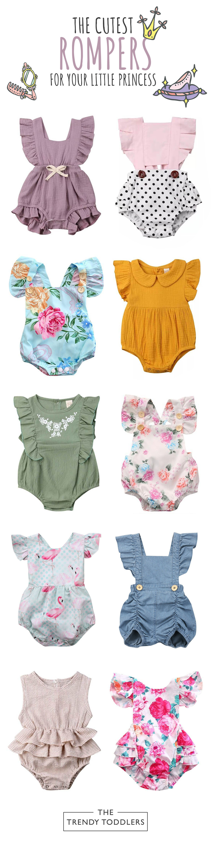 UP TO 70% OFF + FREE SHIPPING! Shop our entire collection of baby girl beautiful... 2
