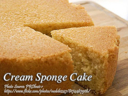 Cream Sponge Cake Kawaling Pinoy Tasty Recipes Recipe Filipino Food Dessert Sponge Cake Cake Recipes