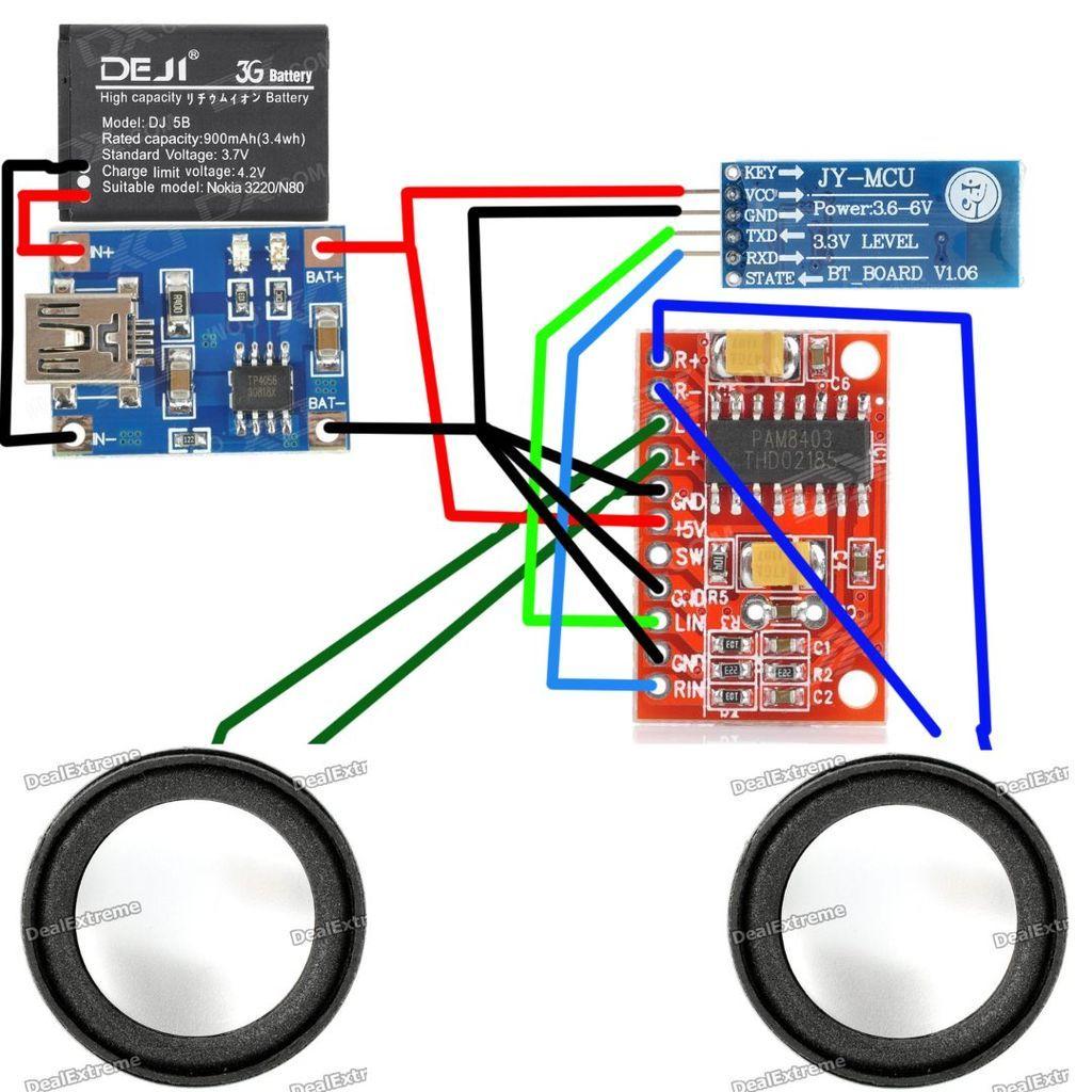 diy bluetooth speaker make a wireless speaker loud enough to fill an entire [ 1024 x 1024 Pixel ]