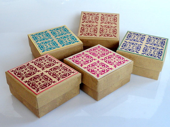 Wedding Favor Boxpackaging Box Bridesmaid Gift By Indianbazzaar