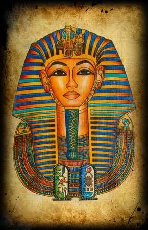 Egyptian natural  papyrus