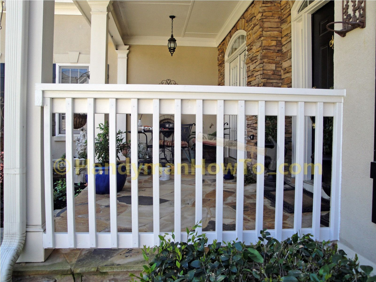 This project shows how to build a 2x6 porch rail from ...