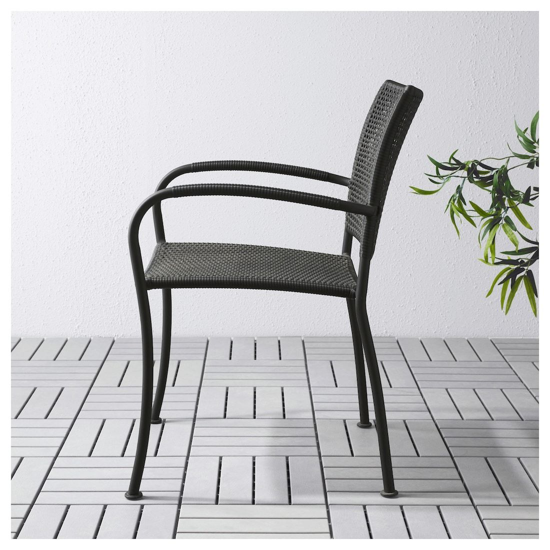 Ikea Gartenmöbel Läckö LÄckÖ Armchair Outdoor Gray In 2019 Decor Outdoor Chairs