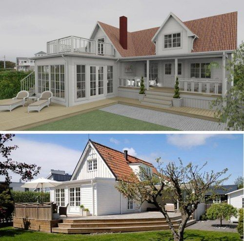 tillbyggnad referensobjekt dreams coffee ab haeuser pinterest house verandas and home. Black Bedroom Furniture Sets. Home Design Ideas