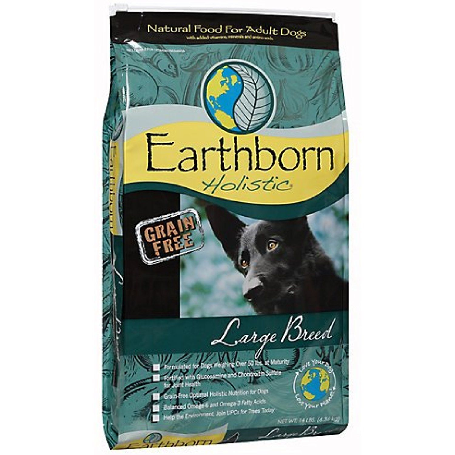 Earthborn Grain Free Large Breed Dry Dog Food 28lb You