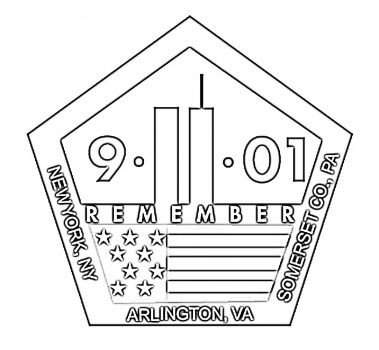 11th September Memorial Coloring Page Super Coloring Memorial Day Coloring Pages Remembering September 11th September 11 Kids