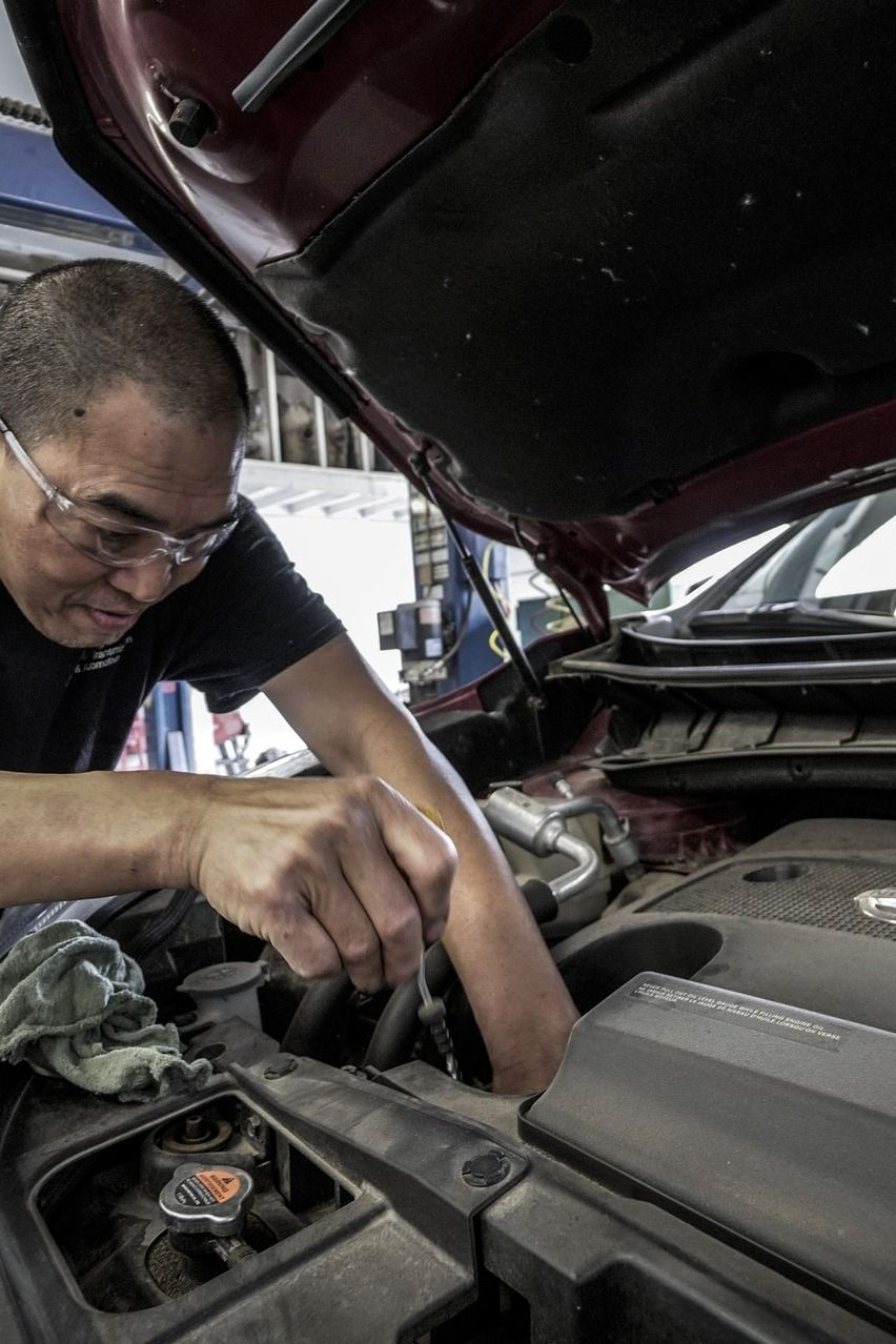 Register for Maintaining Your CarChecking Oil, Tires, Etc