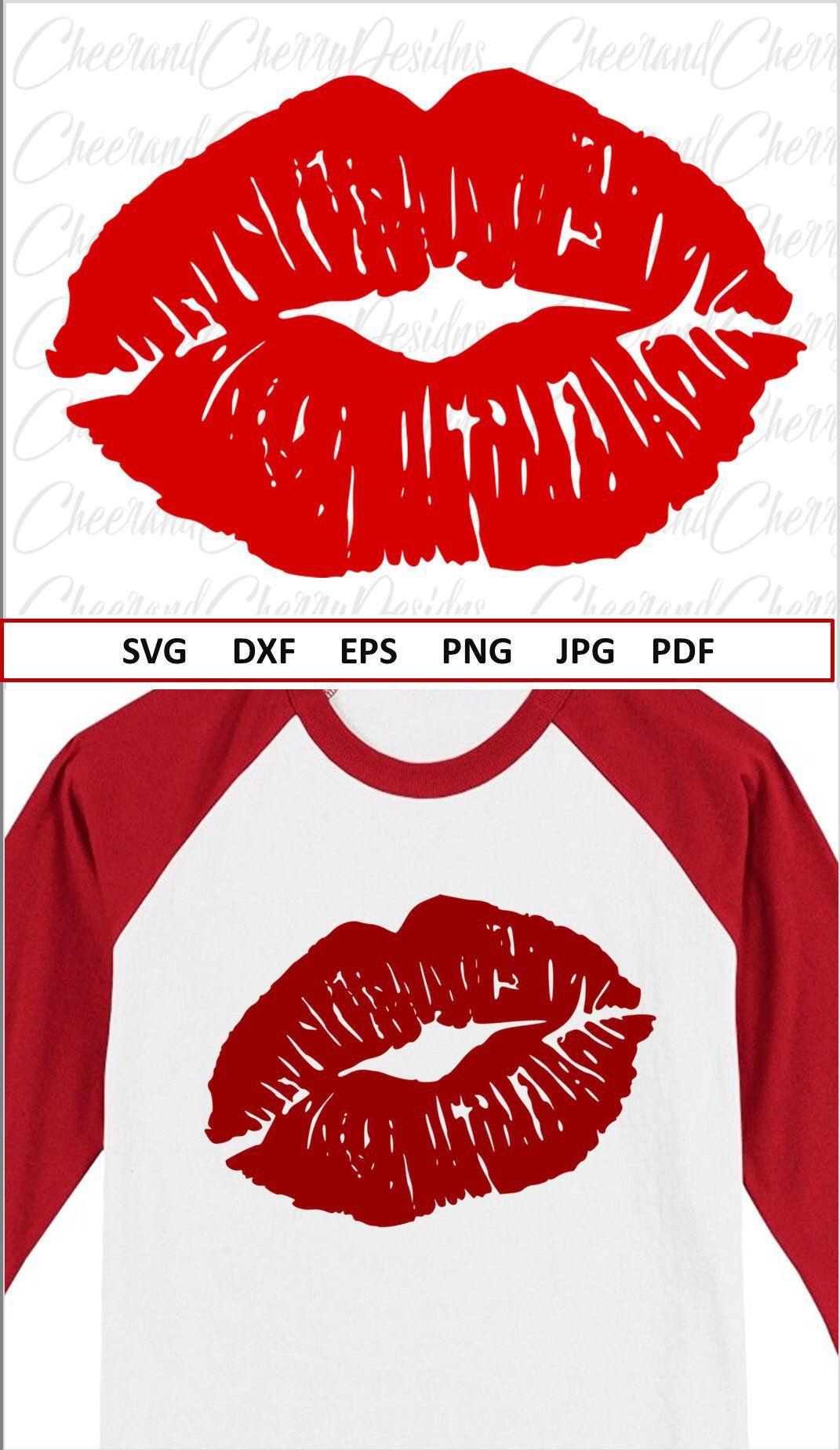 Kiss Svg Valentines Day Svg For Valentine Svg Files For Cricut