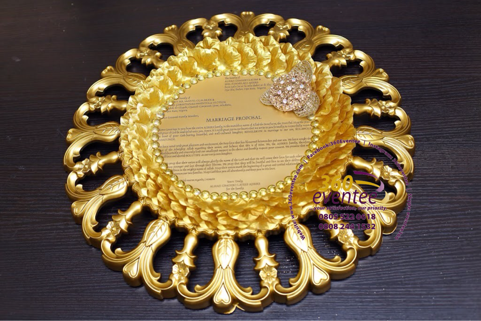 Traditional Wedding Proposal Letter For Eru Iyawo For Yoruba