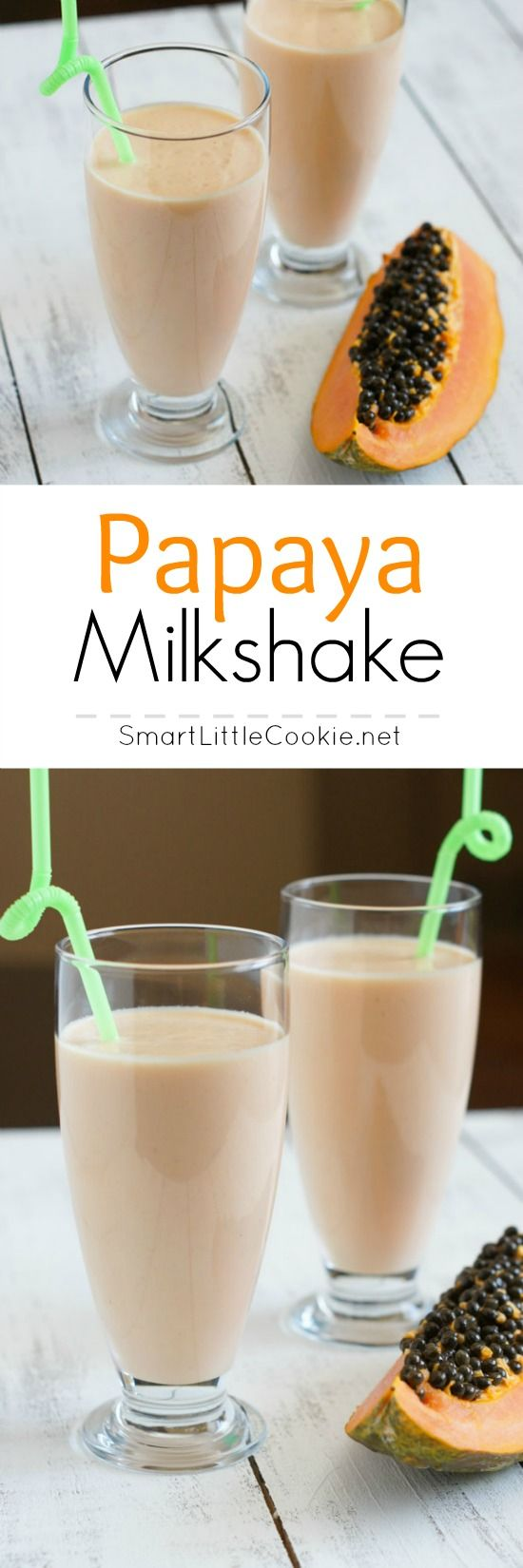 Papaya Milkshake (Batido de Lechoza) photography
