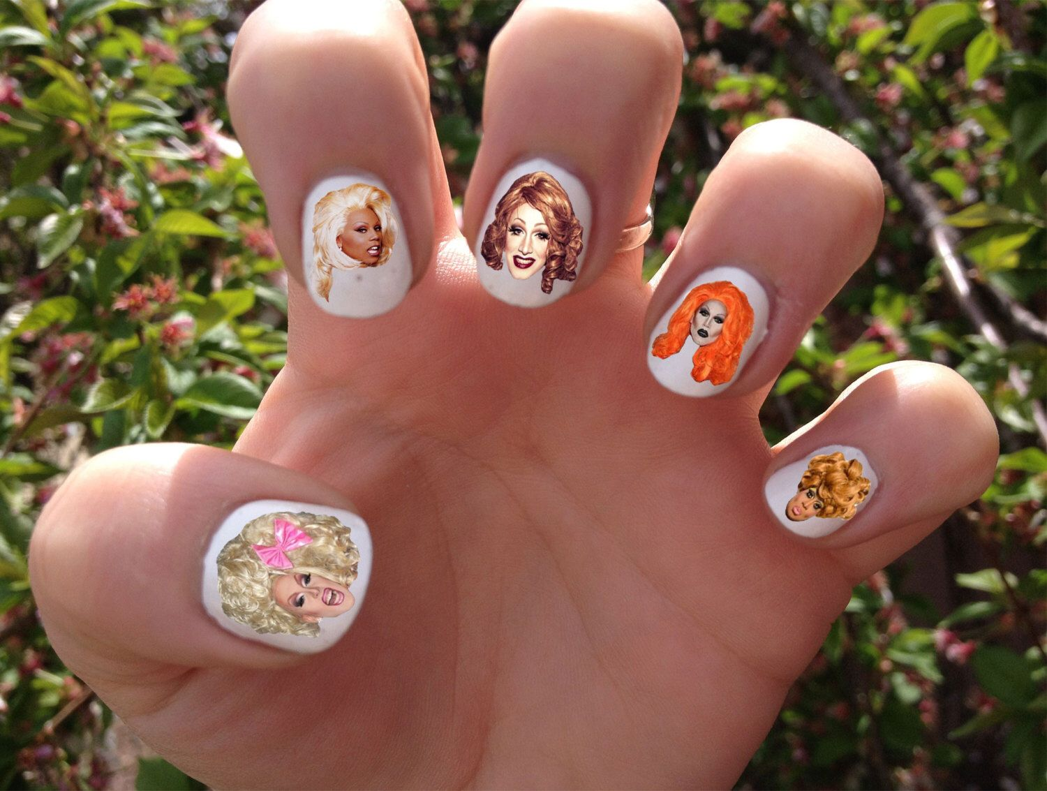 RuPaul\'s Drag Race Nail Decals Transfer Nail Stickers by ...