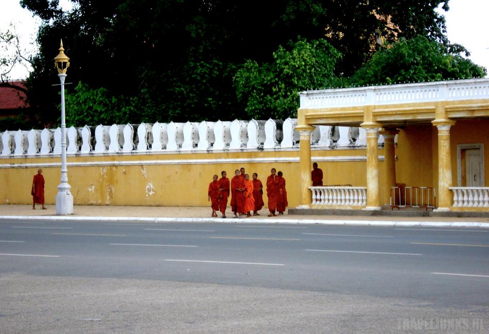 Phnom Penh monniken