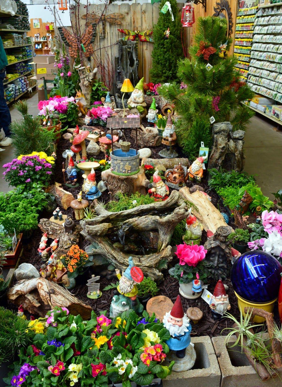 Gnome In Garden: Best Fairy Garden Shown - Google Search