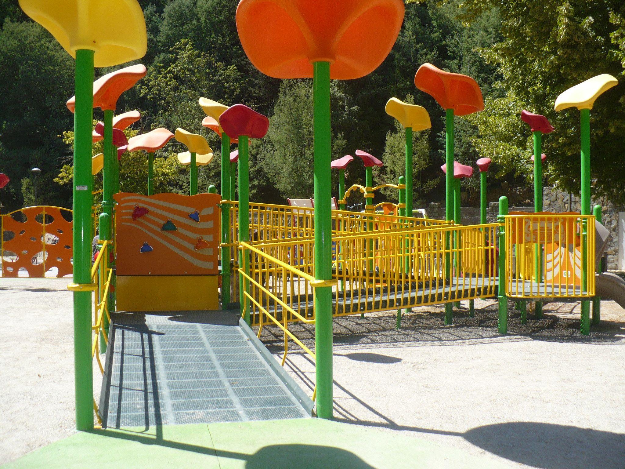 El Primer Parque Inclusivo En Teleton Chile Completamente Adaptado