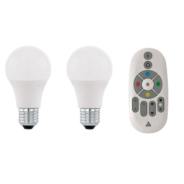 Ampoule Ledblanc Standard E27 806 Lm Couleur Changeante Eglo Led Ampoule Et Domotique
