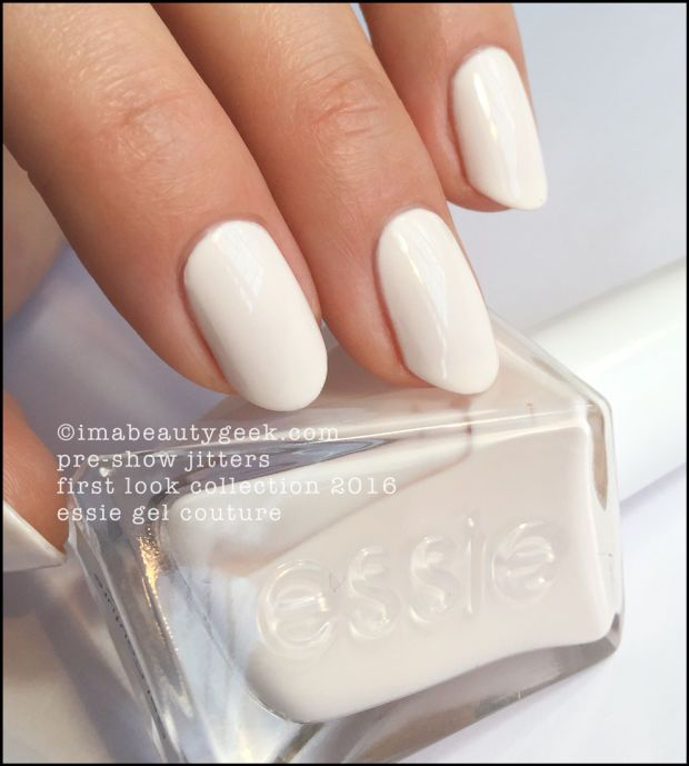 Essie Pre-Show Jitters. Essie Gel Couture 2016 - all the swatches \'n ...