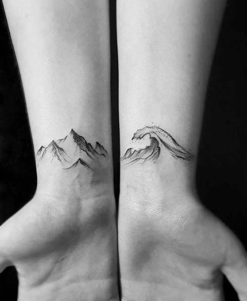 Photo of male wrist tattoos for men 7