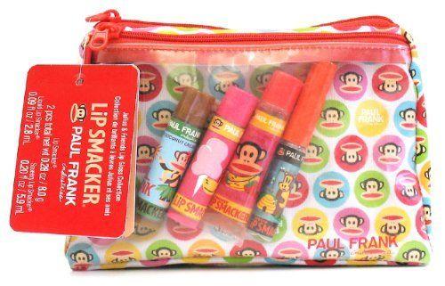 Total süß cosmetic bag von Lip Smacker & Paul Frank mit Lippenpflegestiften in leckeren Aromen aus der Julius&Friends Collection :http://www.amazon.de/dp/B007RNJZ68/ref=cm_sw_r_pi_dp_yleSsb0PCDZCV