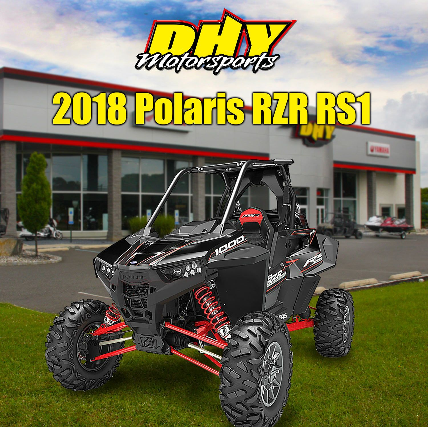 The #Polaris #RZR #RS1, featuring the power & suspension of the RZR