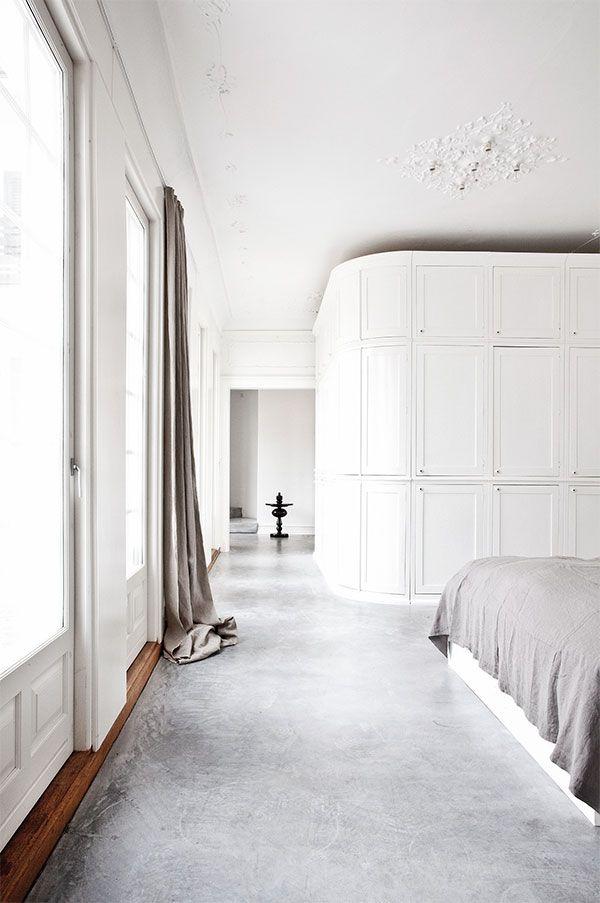 wohnen mit naturlichen Minimalismus Grau, Haus und weiße Wale - minimalismus schlafzimmer in weis