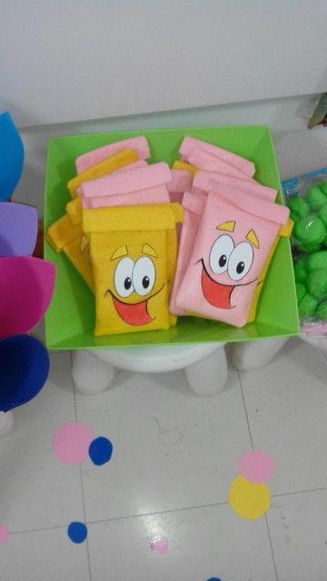 Sacchetti porta caramelle gadget per bambini ispirati for Spranga per porta fai da te