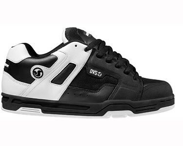 DVS Skate Shoes Bexley SM2 Black White