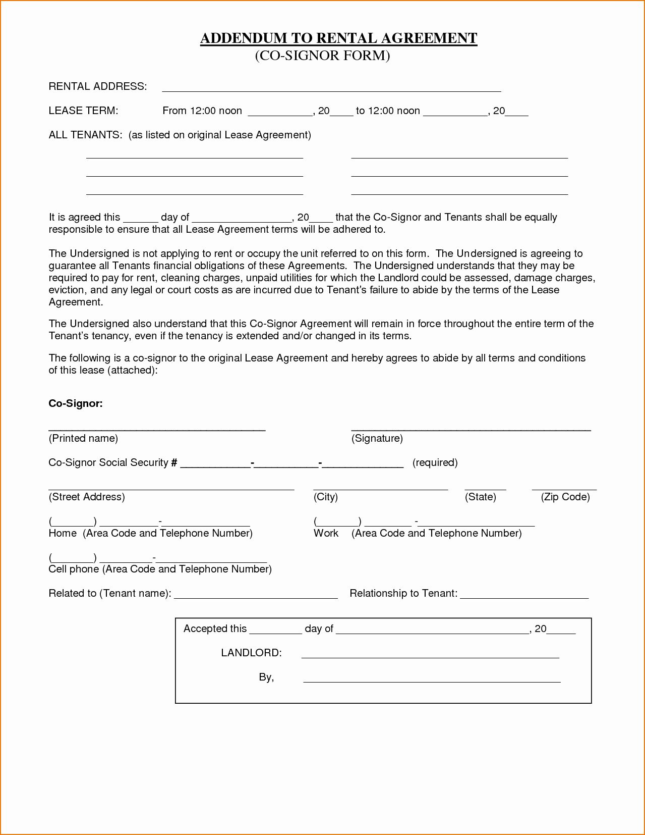 Basic Lease Agreement Template Free New 8 Simple Rental Agreement Template In 2020 Rental Agreement Templates Contract Template Lease Agreement Bounce house rental agreement template