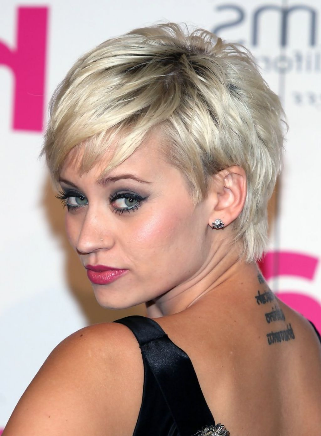 Long pixie haircut back view hairstyles trend collection