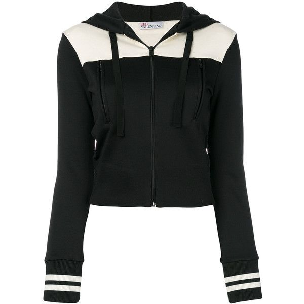 Jacket€460❤ Liked Polyvore Hooded On Red Valentino Tone Two YvI76ybfg