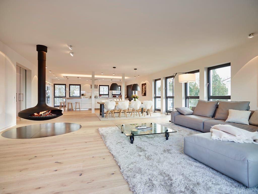 wohnideen, interior design, einrichtungsideen & bilder | salons ... - Bilder Furs Wohnzimmer Modern