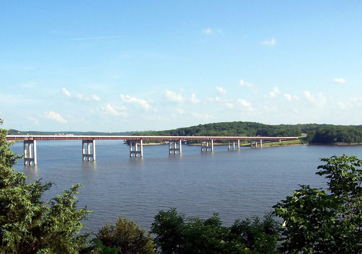 Toll Bridge In Lake Ozark Lake Of The Ozarks Missouri