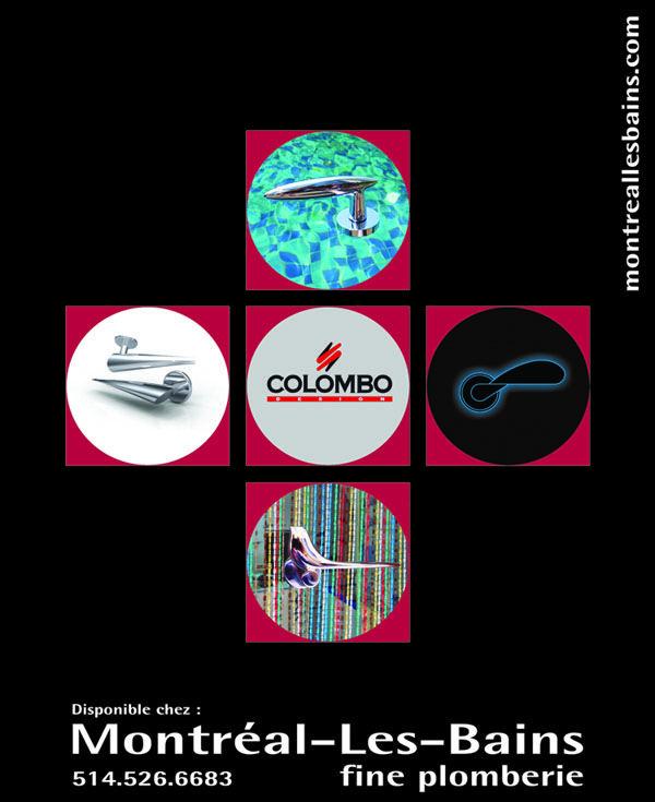 Pub pour les produits Colombo dans le journal Voir Décembre 2012