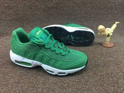 uk availability 9e90d c361e where to buy hot sale nike air max 95 grass green neon green white runing  shoes