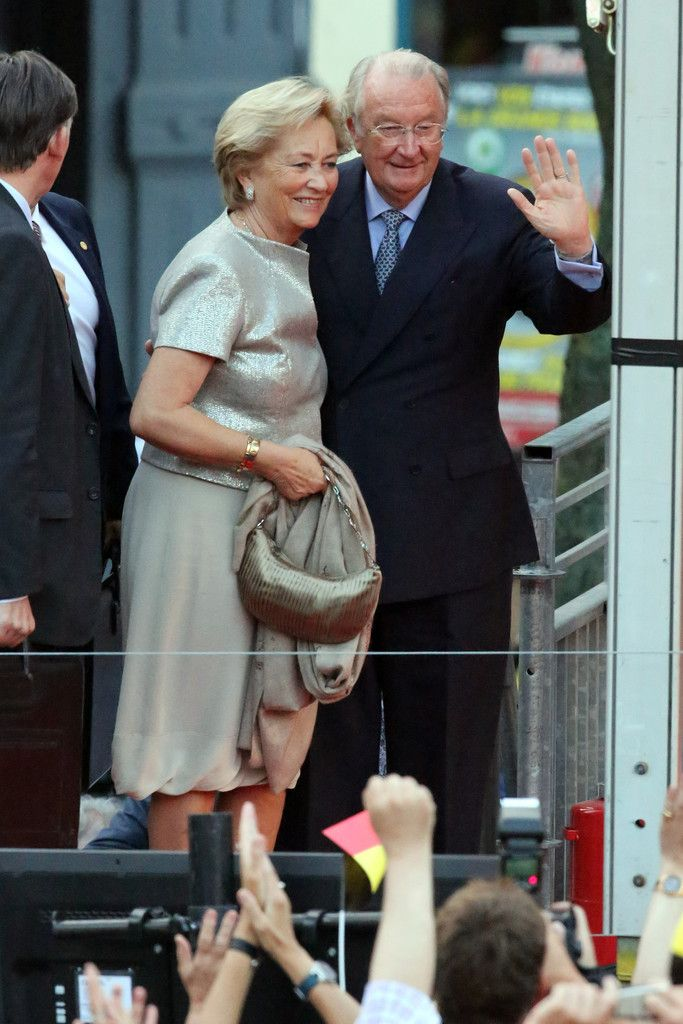 Queen Paola and King Albert II of Belgium attend the 'Bal National' Held Ahead Of Belgium Abdication & Coronation on 20  July 2013 in Brussels, Belgium