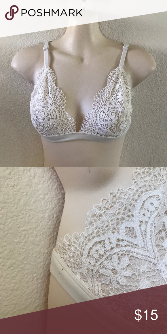 732123488effd NWT Victoria s Secret Bralette   Brand new. Tags attached. 2 small dots.  See pix. Color is an off white. Victoria s Secret Intimates   Sleepwear Bras